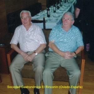 D. Alfonso Luís y D. Ángel Cabiedes