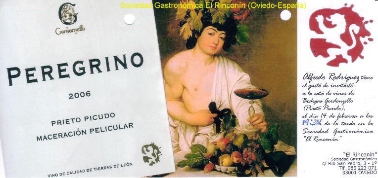 La Bodega Gordonzello nos presentó sus vinos (D.O. Tierra de León, variedad de uva: Prieto Picudo).