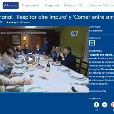 RTPA Sociedades gastronómicas